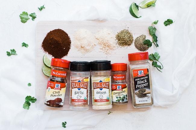 spiced used to make a rub for pork butt