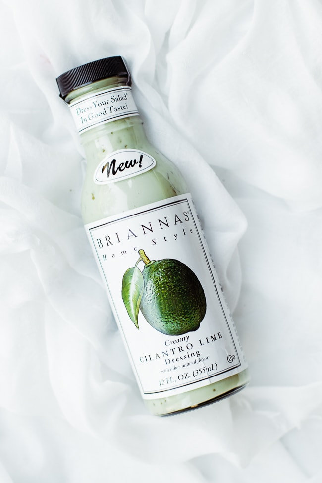 creamy cilantro lime dressing bottle