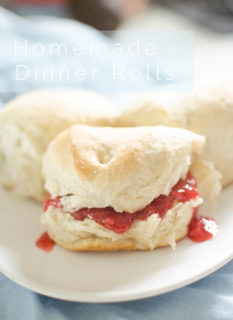 Homemade Dinner Rolls pin
