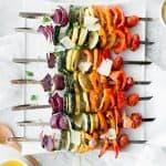 Parmesan Vegetable Skewers