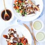 Teriyaki Rice Bowl – {Rumbi Island Grill copycat recipe}