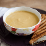 Butternut Squash Soup and Sandwich