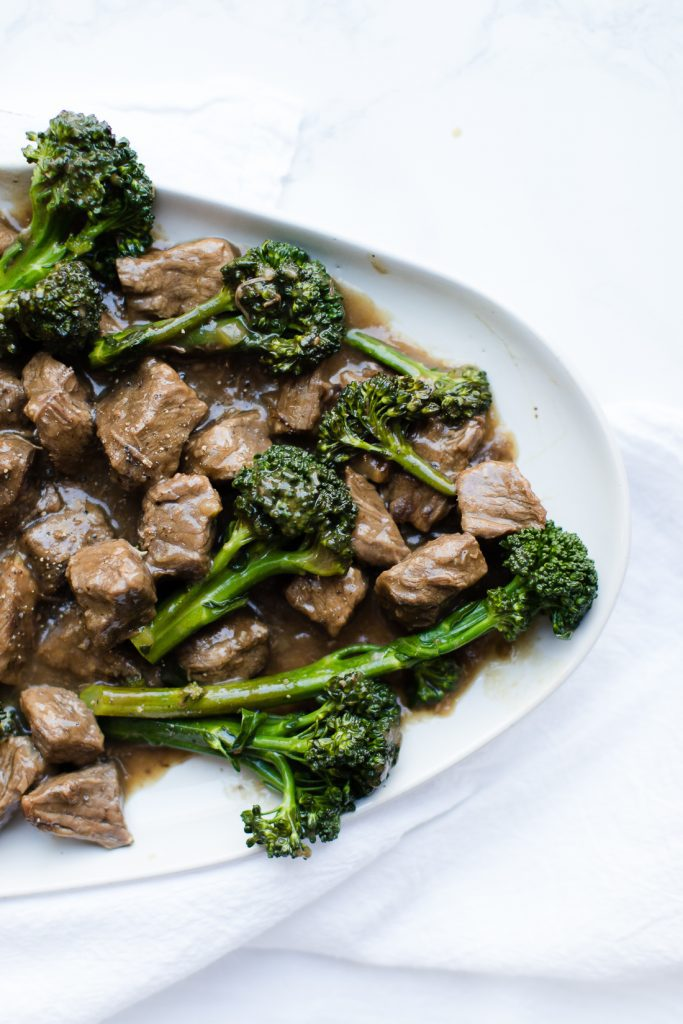 Beef and Broccoli / Pressure Cooker Beef and Broccoli
