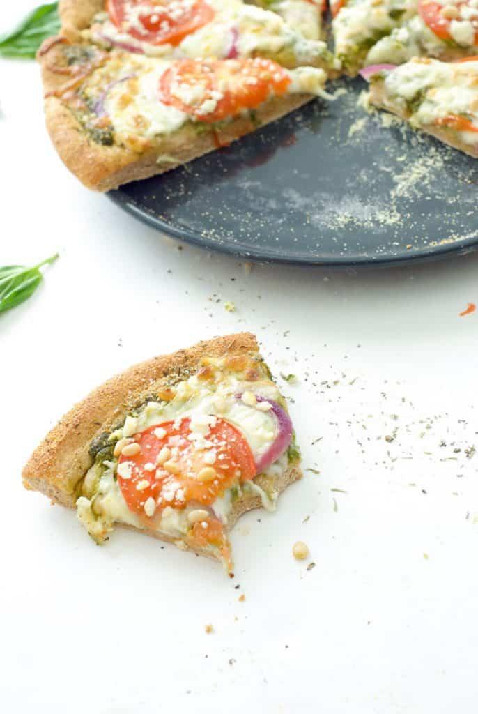 Greek Pesto Pizza-6