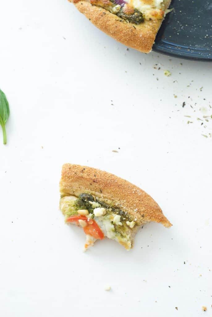 Greek Pesto Pizza-7