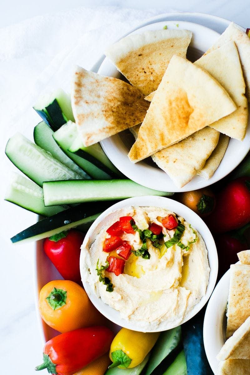 Healthy Hummus Recipe Side Dish Oh So Delicioso
