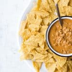 No-bean Chili Cheese Dip