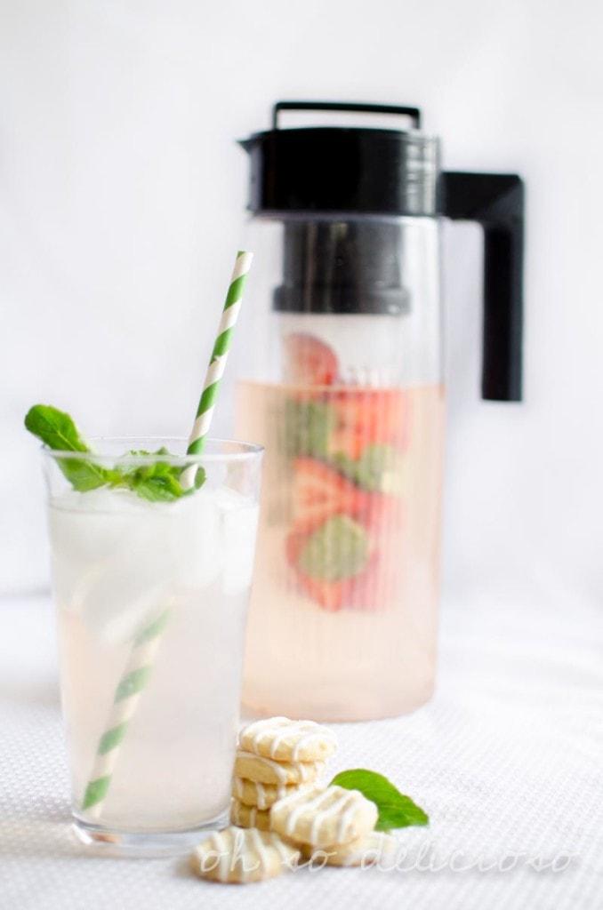 Mint Strawberry Lemonade Infusion
