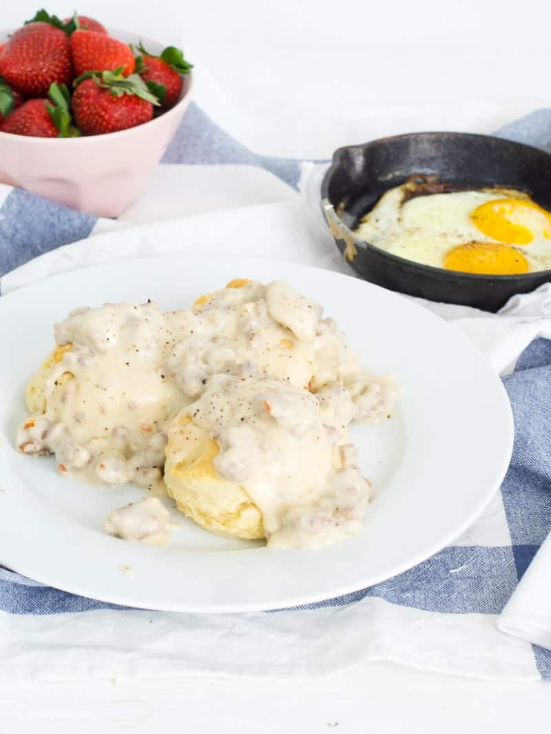 Buttermilk Biscuits And Gravy Oh So Delicioso
