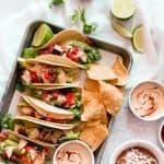 Rubios Copycat - Grilled Creamy Chipotle Tacos