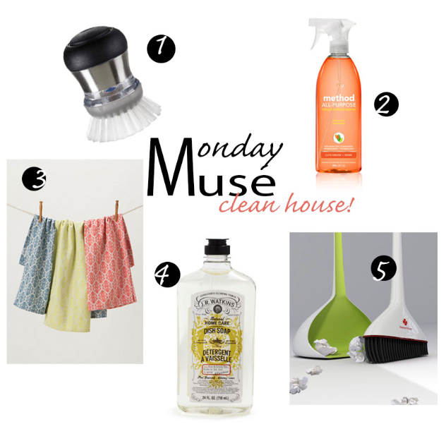 Monday Muse- Clean House!