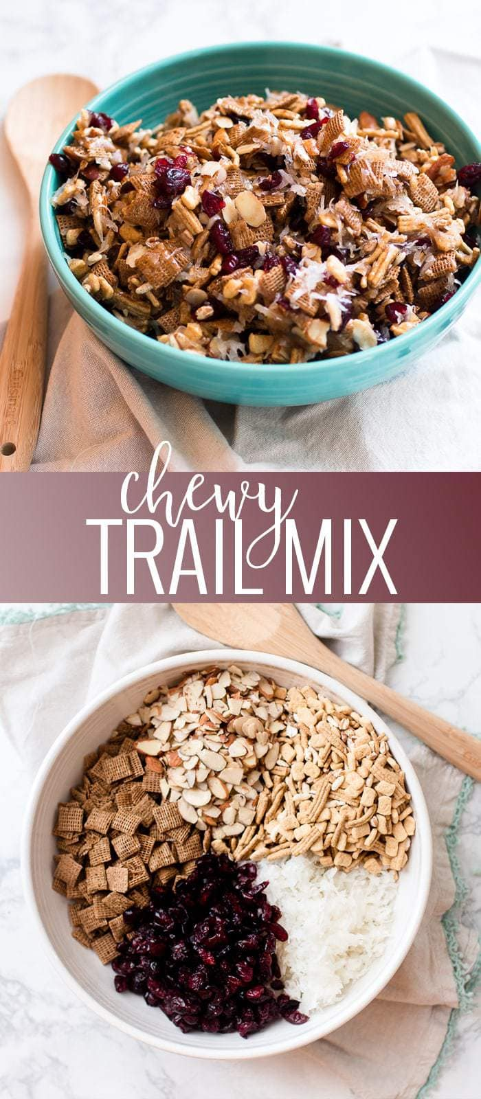 Chewy Trail Mix pinterest image