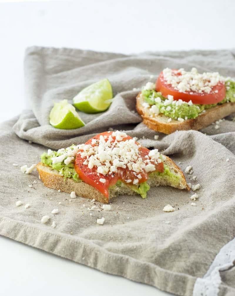 Avocado Feta Toast-4