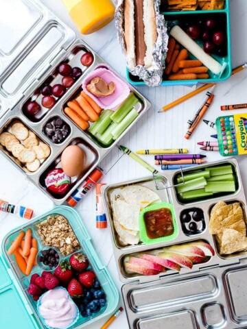 non-sandwich school lunches.