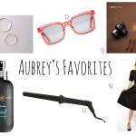 Aubrey's Favorites