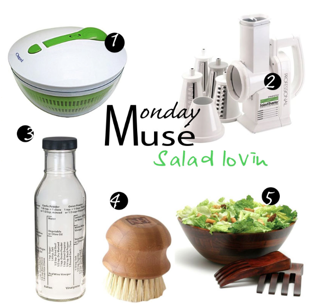 Monday Muse- Salad and Produce Tools