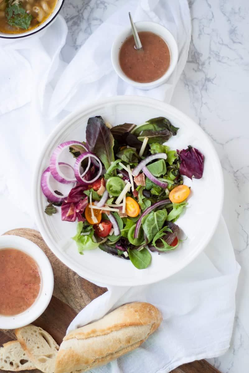 Spinach Salad Oh So Delicioso