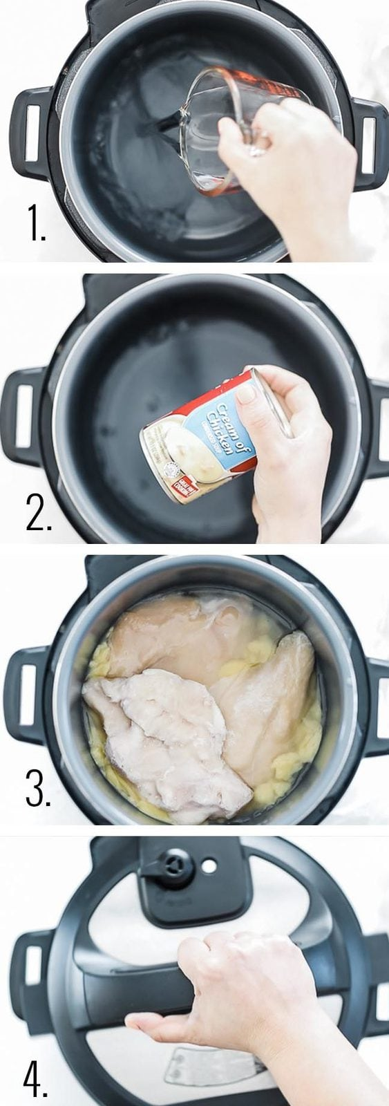 How to make smothered chicken.