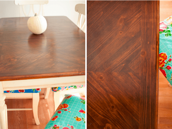 A Kitchen Table to be Thankful for… a Make-Over Story
