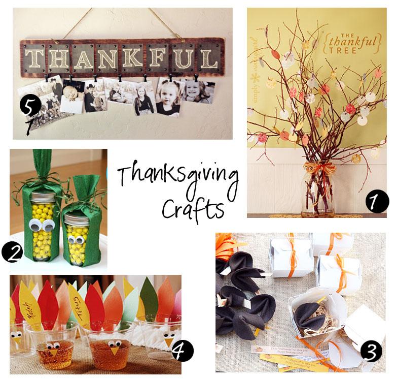 Monday Muse – Thanksgiving Crafts