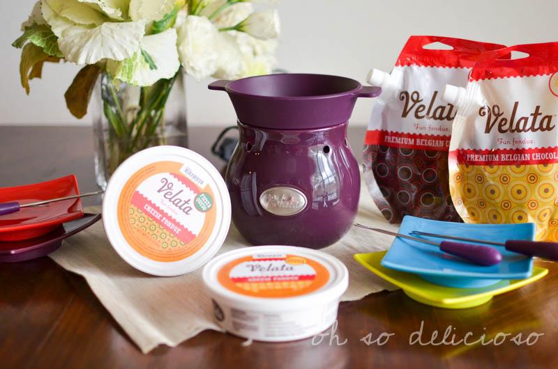 Velata Giveaway! Easy Fondue