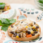 Tex-Mex Chicken Sammies Appetizer
