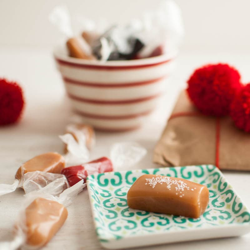 Soft Caramels (regular, cinnamon, licorice)