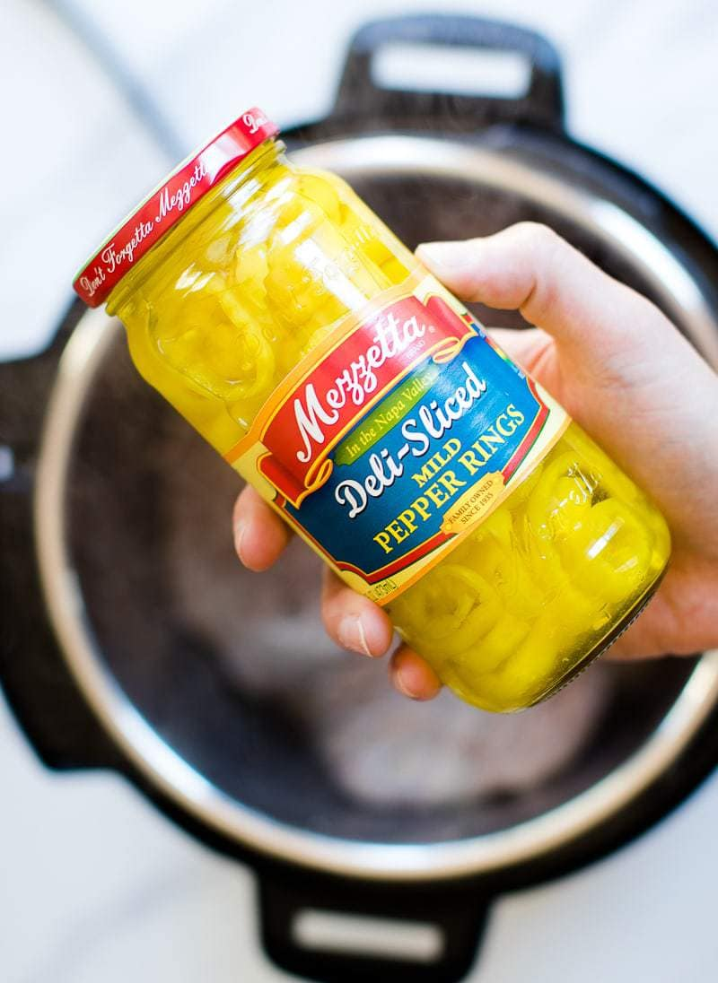 Mezzetta brand Pepperoncinis in jar