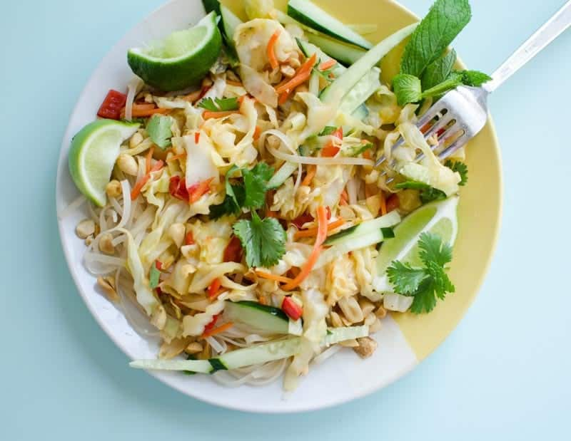Thai Cabbage StirFry