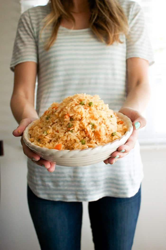 Authentic Mexican Rice  Oh So Delicioso-4521