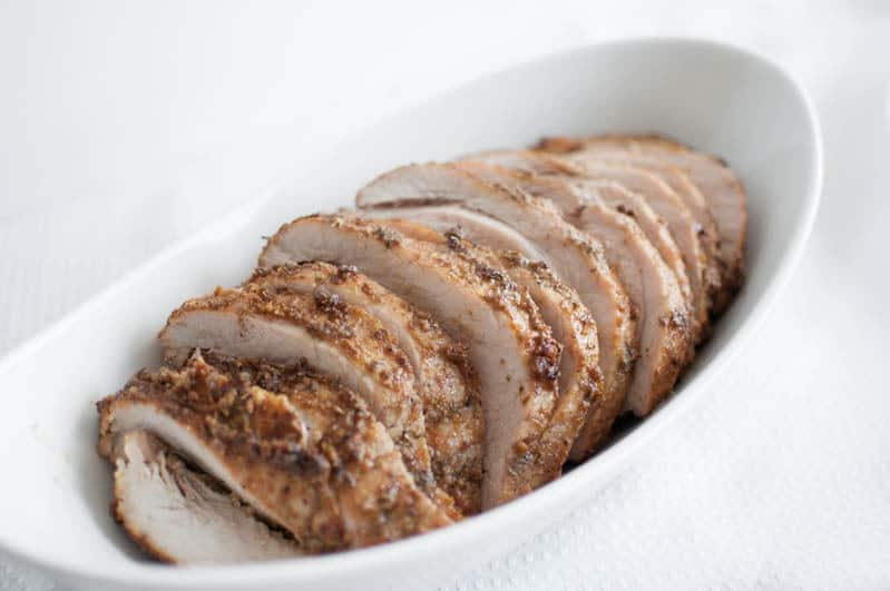 Herb Crusted Pork Roast