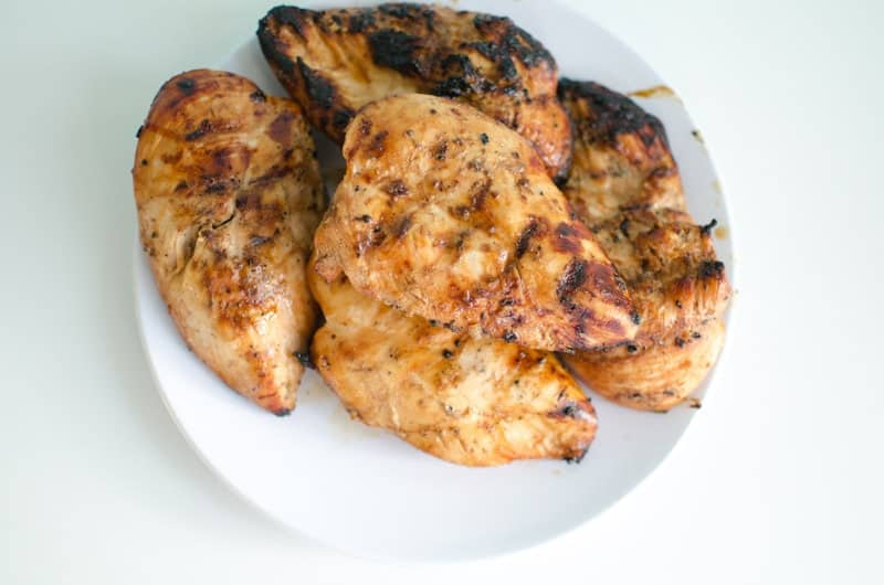 Grilled Asian Chicken Marinade // How to Grill Chicken
