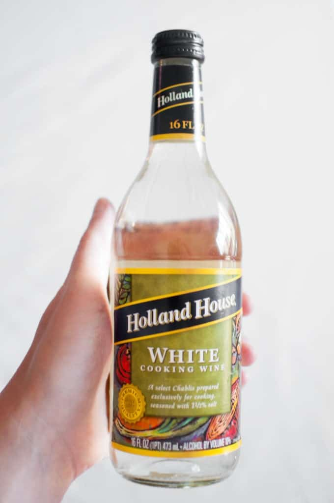 Holland House brand white cooking wine