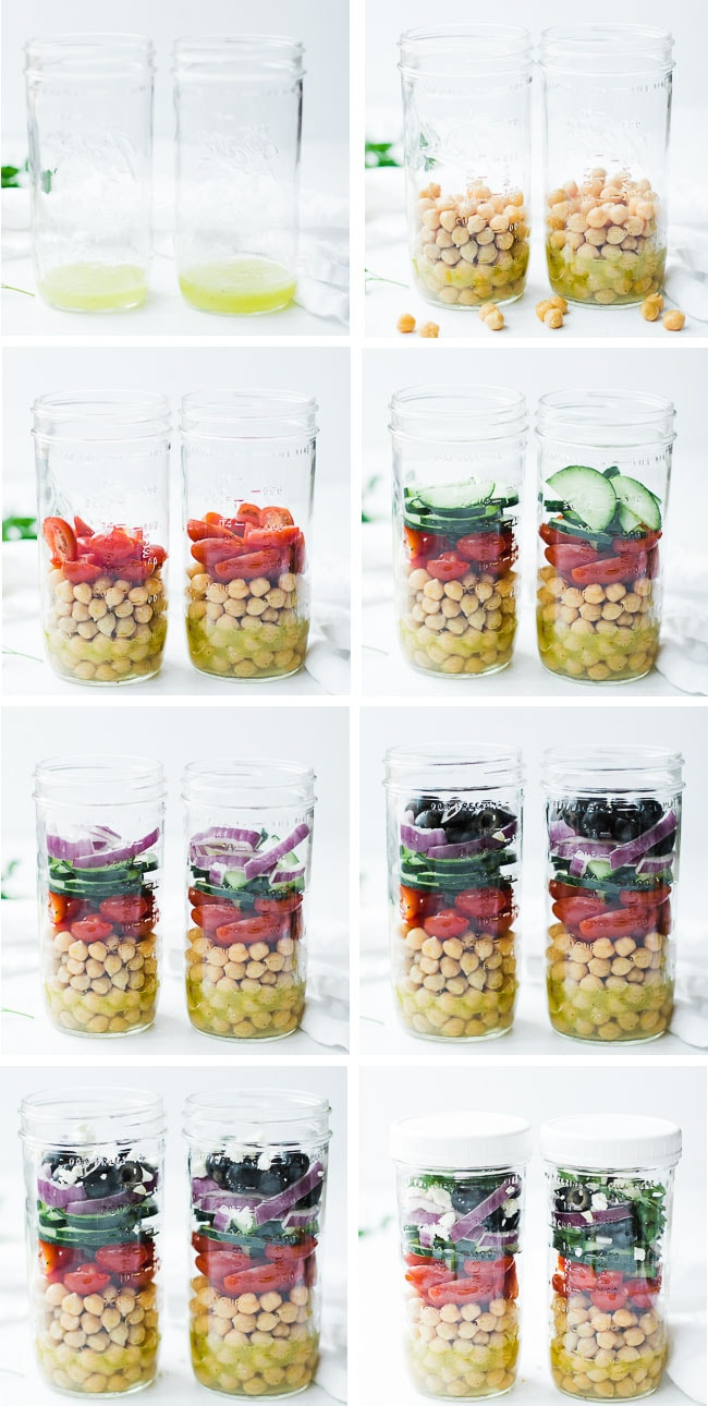 HOW TO LAYER MASON JAR SALADS