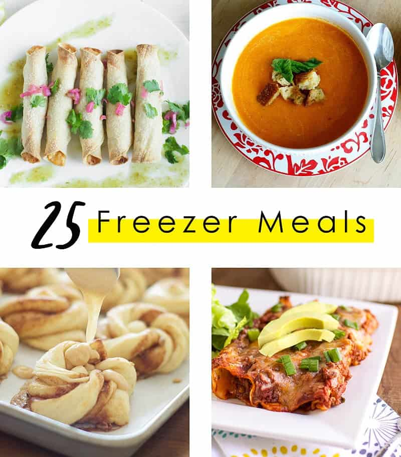 Freezer Meal Round Up – 25 Recipes That Freeze Like A Dream