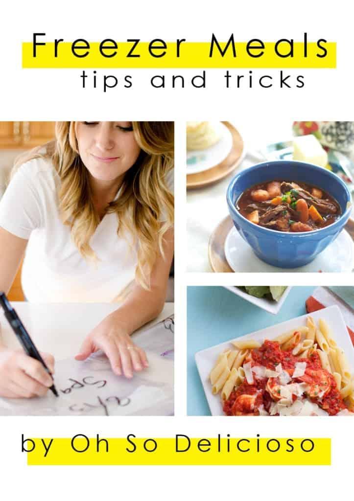 Freezer Meals: Tips and Tricks