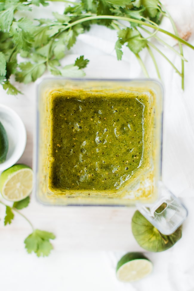blended enchilada sauce
