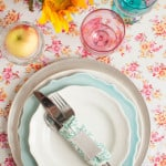 Floral Thanksgiving Place Setting