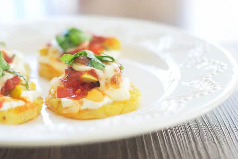 Polenta Lasagna Bites
