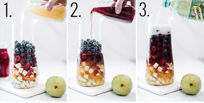 How to make winter sangria.