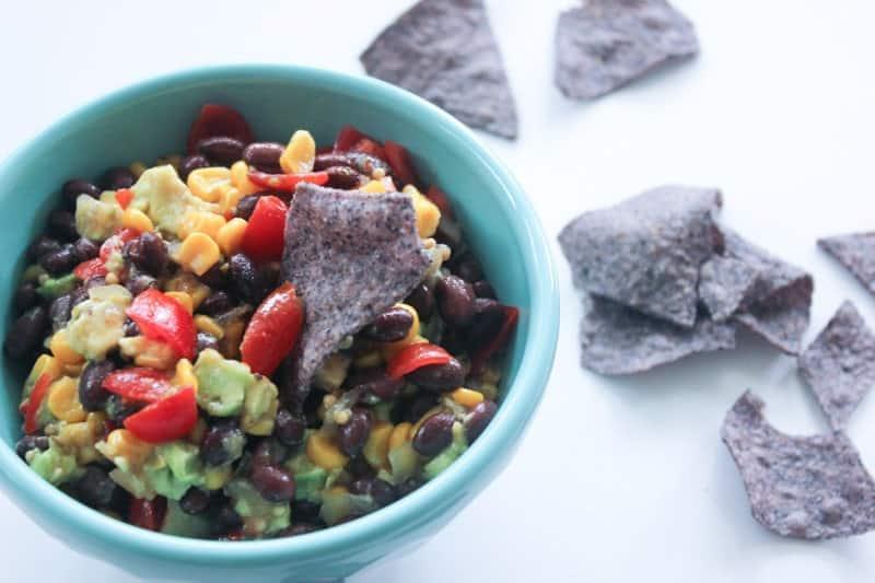Black Bean Corn Chili Salsa