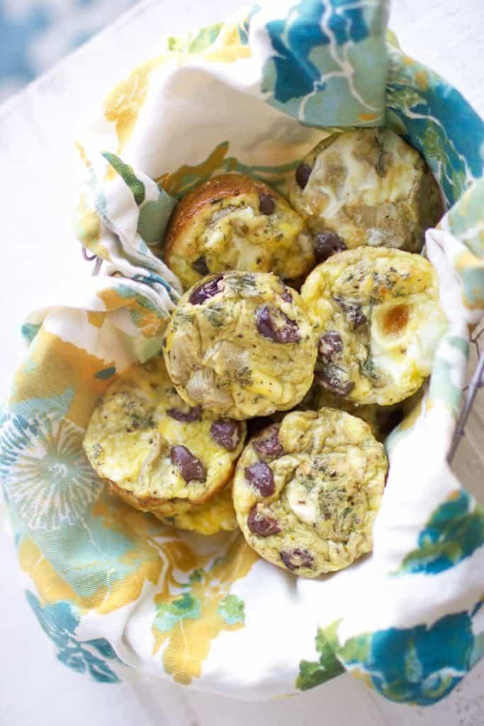 Mediterranean Mini Frittatas // + Weight Watchers Giveaway