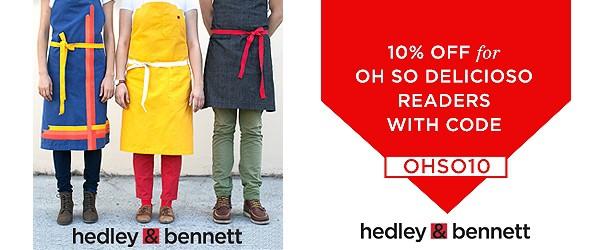 Hedley & Bennett Coupon Code