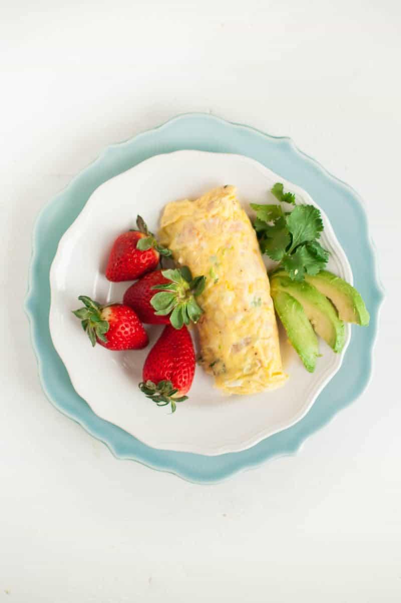 Omelete In A Bag
