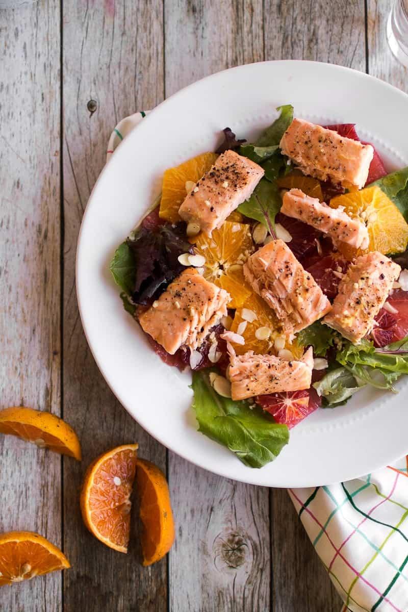 Citrus Amp Salmon Salad Oh So Delicioso