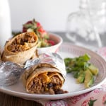 Southwest Turkey Burrito