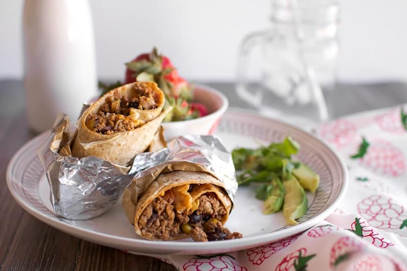 Southwest Turkey Burrito