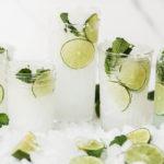 Coconut Lime Spritzer Summer Mocktails.