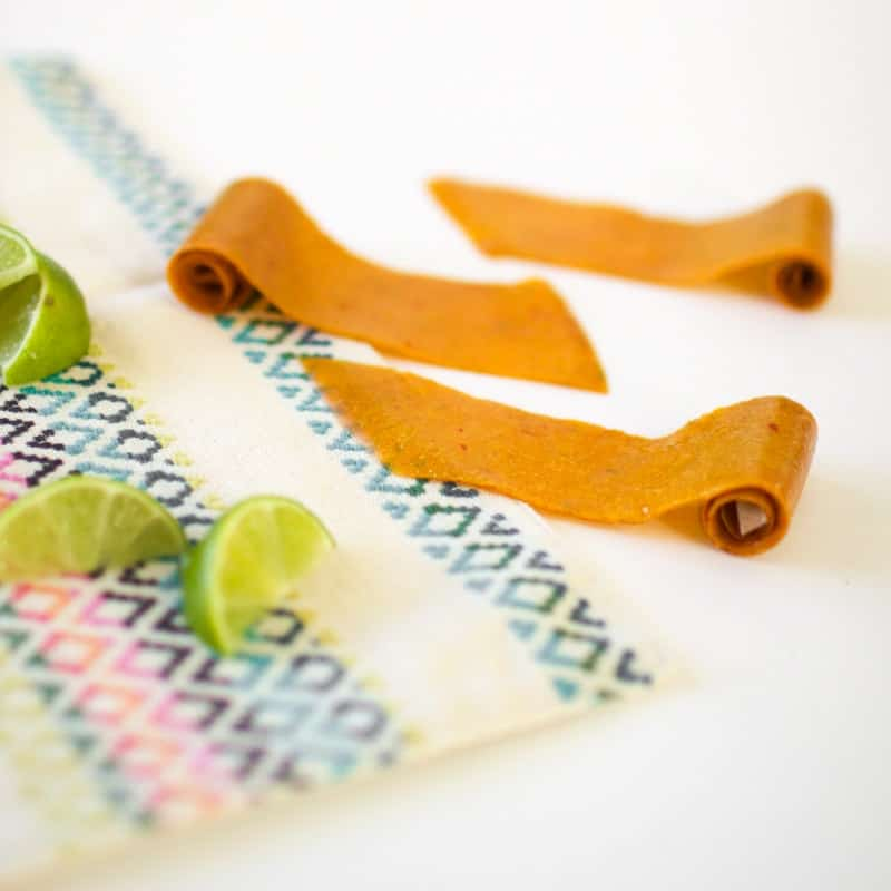Mango Lime Fruit Leather // Summer Snack Series