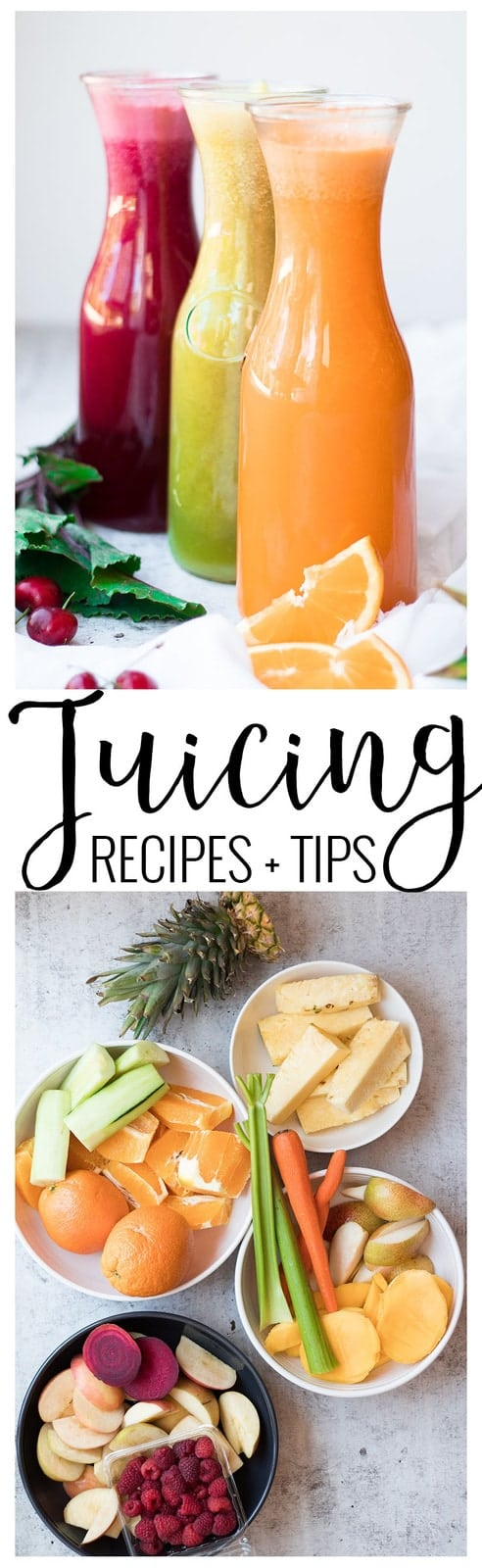 juicing recipes and tips pinterest image